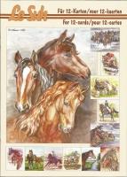 3D-Buch A5 Pferde von LeSuh (345635)