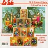 3D-Pyramidenbuch Weihnachten 4 von LeSuh (394006)