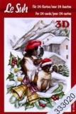 3D-Minibüchlein Annas Weihnachten von LeSuh (333020)