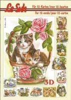 3D-Buch A5 Katzen von LeSuh (345625)