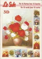 3D-Buch A5 Blumen von LeSuh (345633)