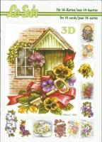 3D-Buch A5 Blumen von LeSuh (345627)