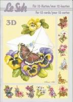 3D-Buch A5 Schmetterling von LeSuh (345602)
