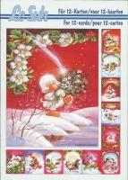 3D-Buch A5 Weihnachtsküken von LeSuh (345605)