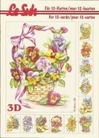 3D-Buch A5 Frühlingsblumen von LeSuh (345609)