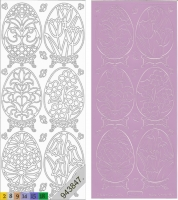 Sticker - Ostern 4 - flieder - 899