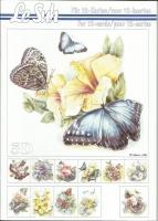 3D-Buch A5 Schmetterlinge von LeSuh (345666)