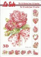 3D-Buch A5 Rosen von LeSuh (345667)