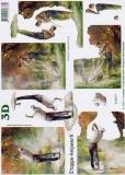 3D-Bogen Golfspieler von LeSuh (4169477)