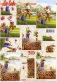 3D-Bogen Golf und Angeln von LeSuh (4169838)
