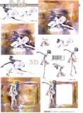 3D-Bogen Ballett von LeSuh (4169826)