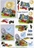 3D-Bogen Fußball & Fischen von LeSuh (4169230)