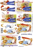 3D-Bogen Mädchen von LeSuh (4169664)