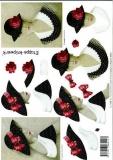 3D-Bogen Dame mit Hut von LeSuh (4169118)