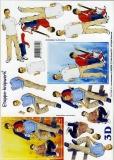 3D-Bogen Jungen von LeSuh (4169239)