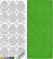 Sticker - Ostern 3 - grün - 898