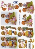 3D-Bogen Junge und Mädchen von LeSuh (4169231)