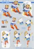 3D-Bogen Mädchen von LeSuh (4169770)
