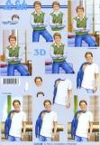 3D-Bogen Jungen von LeSuh (4169768)