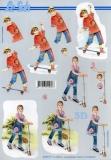 3D-Bogen Jungen und Mädchen von LeSuh (4169771)