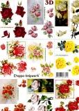 3D-Bogen Rosen klein von LeSuh (4169290)