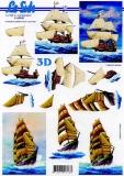 3D-Bogen Segelschiff von LeSuh (4169690)