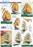 3D-Bogen Segelschiffe von LeSuh (4169742)