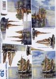 3D-Bogen Segelschiffe von LeSuh (4169471)