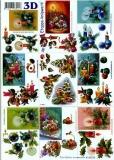 3D-Bogen Weihnachtskerzen klein von LeSuh (4169378)