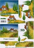 3D-Bogen Haus in der Provence von LeSuh (4169484)