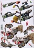 3D-Bogen Moto-Cross von LeSuh (416948)