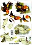3D-Bogen Tukan und Kakadu von LeSuh (4169197)