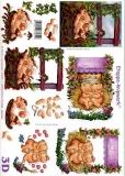 3D-Bogen Schweinchen von LeSuh (416962)