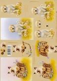 3D-Bogen Katze und Hund von LeSuh (4169488)