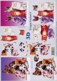 3D-Bogen Katzen und Hunde von LeSuh (4169264)