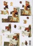 3D-Bogen Kätzchen von LeSuh (416925)