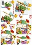 3D-Bogen Weihnachtskinder von LeSuh (416998)