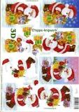 3D-Bogen Weihnachtsmann von LeSuh (4169308)