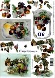 3D-Bogen Weihnachtskinder von LeSuh (4169113)
