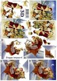 3D-Bogen Weihnachtsmann von LeSuh (4169578)
