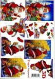 3D-Bogen Weihnachtsmann von LeSuh (4169214)