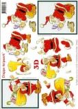 3D-Bogen Weihnachtsmann von LeSuh (4169101)