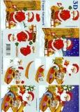 3D-Bogen Weihnachtsmann von LeSuh (4169306)