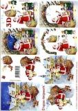3D-Bogen Weihnachtsmann von LeSuh (4169300)