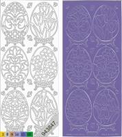 Sticker - Ostern 4 - violett - 899