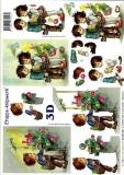 3D-Bogen Weihnachtskinder von LeSuh (4169130)