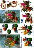 3D-Bogen Weihnachtskerzen von LeSuh (4169303)