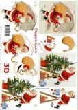 3D-Bogen Weihnachtsmann von LeSuh (416991)