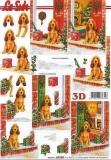 3D-Bogen Hund mit Geschenk von LeSuh (650004)