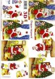 3D-Bogen Weihnachtsmann mit Kind von LeSuh (4169312)